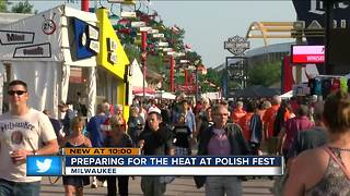 Polishfest prepares for hot weekend - Video
