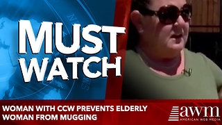 Woman With CCW Prevents Elderly Woman From Mugging - Video