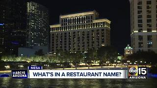 Mesa restaurant changes name after legal battle with Vegas resort and casino