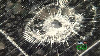 Stray bullet damages northside home - Video