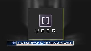 Is Uber the new ambulance? - Video
