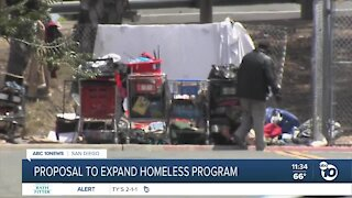 Proposal would expand San Diego's homeless outreach program