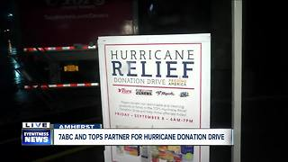 WKBW and Tops hold Donation drive to help those in need - Video