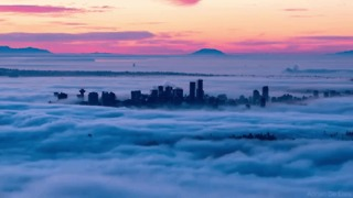Timelapse Video Captures 'Ocean' of Clouds Over Vancouver, British Columbia - Video