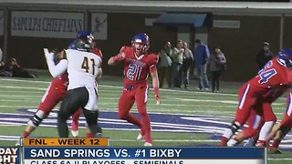 Sand Springs vs Bixby - Oklahoma High School Football