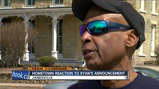 Paul Ryan's hometown reacts to his retirement announcement