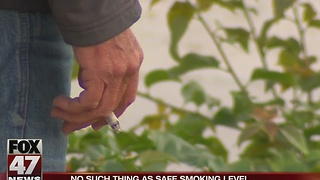 No such thing as safe smoking level - Video