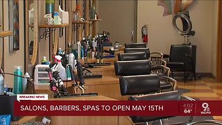 Salons reopening