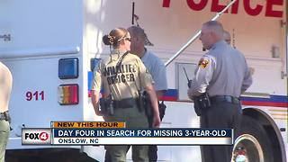Day 4 of the search for missing North Carolina girl - Video