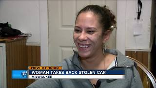 'You gonna learn today': Milwaukee woman steals back her stolen car - Video