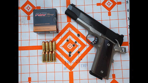 10mm Ronin 1911 Full Review - Unbox, Trigger, Accuracy, Ammo