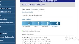 How to track your ballot