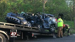 Mother, two small children killed in crash in Jackson County - Video