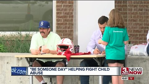 'Be Someone Day' helping fight child abuse