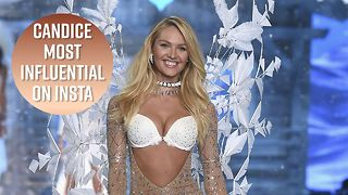 Candice Swanepoel most powerful model in lingerie - Video