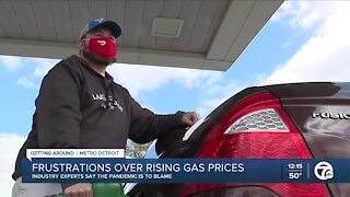 Frustrations over rising gas prices