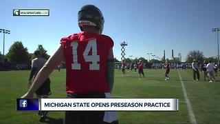 Lewerke ready to take control at Michigan State - Video