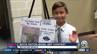 Boca Raton Bowl Art Contest - Video