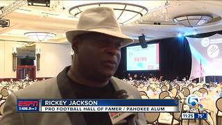 Rickey Jackson honored at luncheon - Video