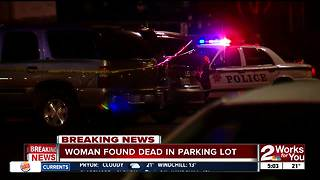 Woman found dead in mall parking lot - Video