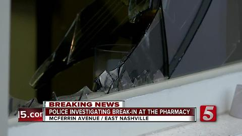 Police Investigate Break-In At The Pharmacy Burger Parlor