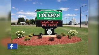 Man arrested for allegedly making threats that caused Coleman school evacuations