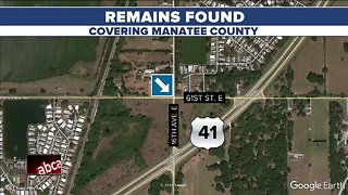 Human remains discovered in a field in Manatee County