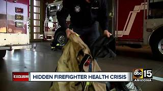 Valley firefighters facing hidden health crisis - Video