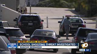 Threat at Rancho Bernardo High - Video