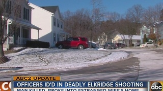 Officers involved in Elkridge police-involved shooting - Video