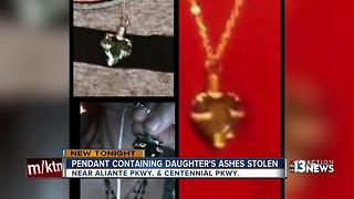 Crooks steal daughter's ashes from mom's gym locker - Video
