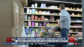 Local grocery stores are working through COVID-19 outbreak