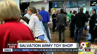 Salvation Army Toy Shop opens Monday - Video