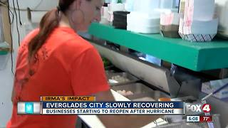 Everglades City businesses beginning to re-open after Irma damage - Video