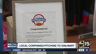 Valley companies pitch products to Walmart