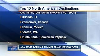 AAA: Top summer destinations for travel - Video