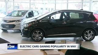 Electric cars gaining popularity in WNY - Video