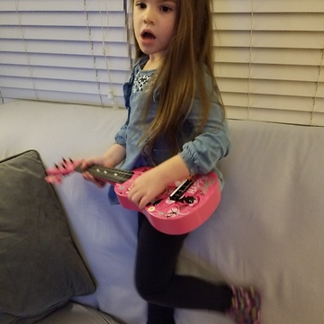 Singing, Dancing, Guitar Playing 4 Year old