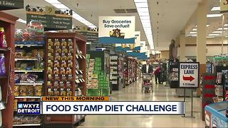 Food Stamp Diet Challenge - Video