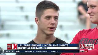 Huskers hold 2nd Friday Night Lights Camp