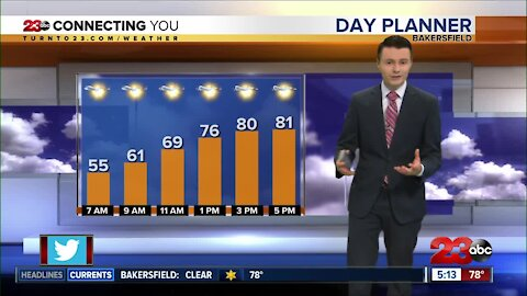 23ABC Evening weather update April 6, 2021