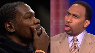 "Kevin Durant BLASTED by Stephen A Smith: ""He's Arrogant and Disrespectful,"" - Video"