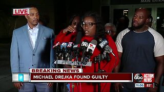 Press Conference: Michael Drejka found guilty of fatally shooting unarmed man
