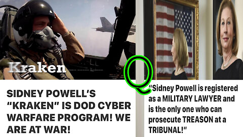 Will Sidney Powell Conduct These Inevitable Military Tribunals?! :coded: