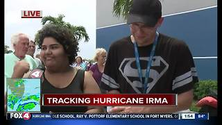 Hundreds waiting for shelter at Germaine Avenue - Video