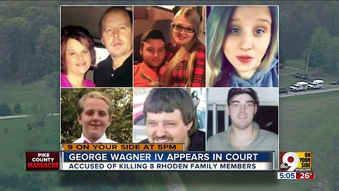 Pike County massacre suspect George Wagner IV can have no contact with co-defendants