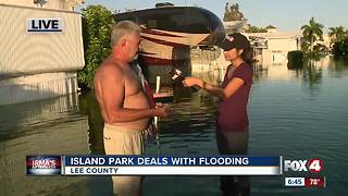Man helps Island Park community post-Irma - Video