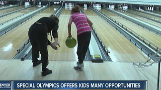 Special Olympics Colorado offers opportunities that benefit both kids and their parents - Video