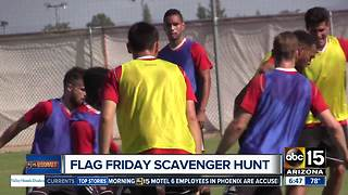 Participate in 'Flag Friday' scavenger hunt with Phoenix Rising - Video