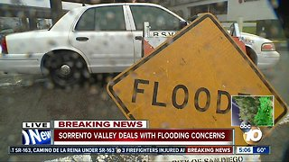 Sorrento Valley deals with flooding concerns